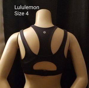 Lululemon Sport Bra Poka Dots